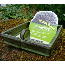Wildlife World Hedgehog Snack Feeding Bowl