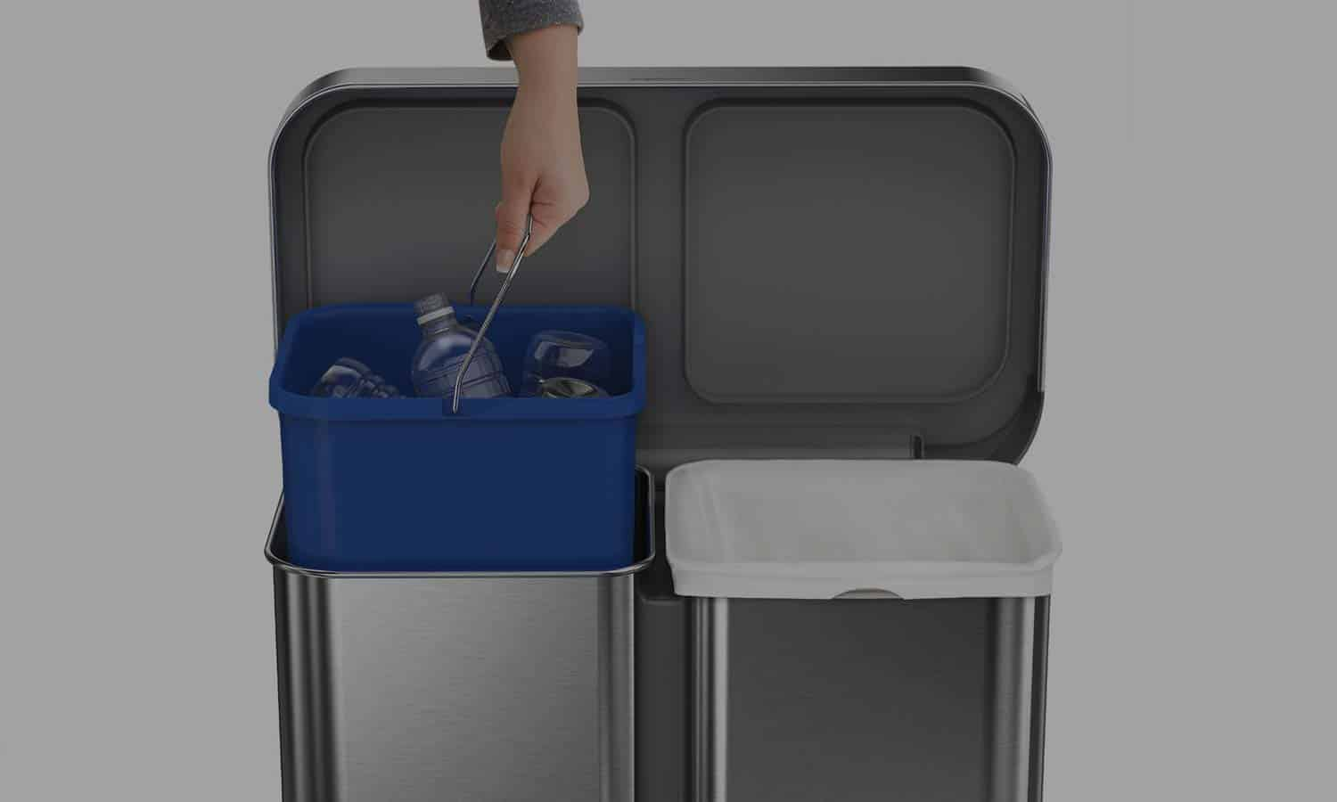 Recycling Bins For Home Kitchen  Office  Best Trash Cans