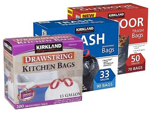 kitchen bags calphalon outlet recycling trash compostable kirkland