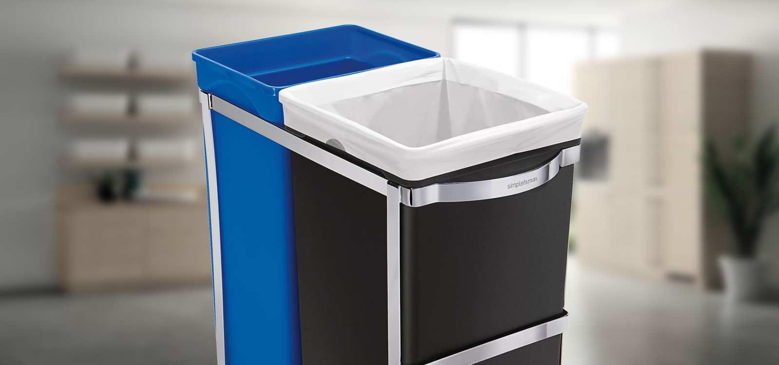 pull out trash cans for under a kitchen
