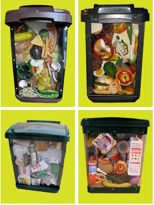 Waste Caddy Displays Recycling Displays
