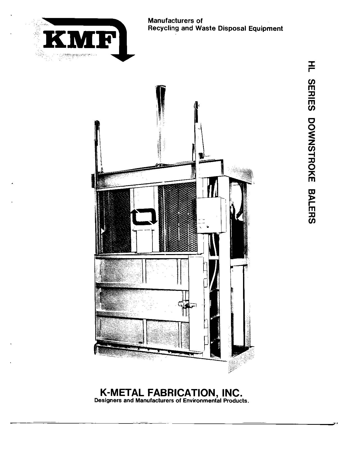 K-Metal : KMF K Metal Vertical Baler Manual PDF