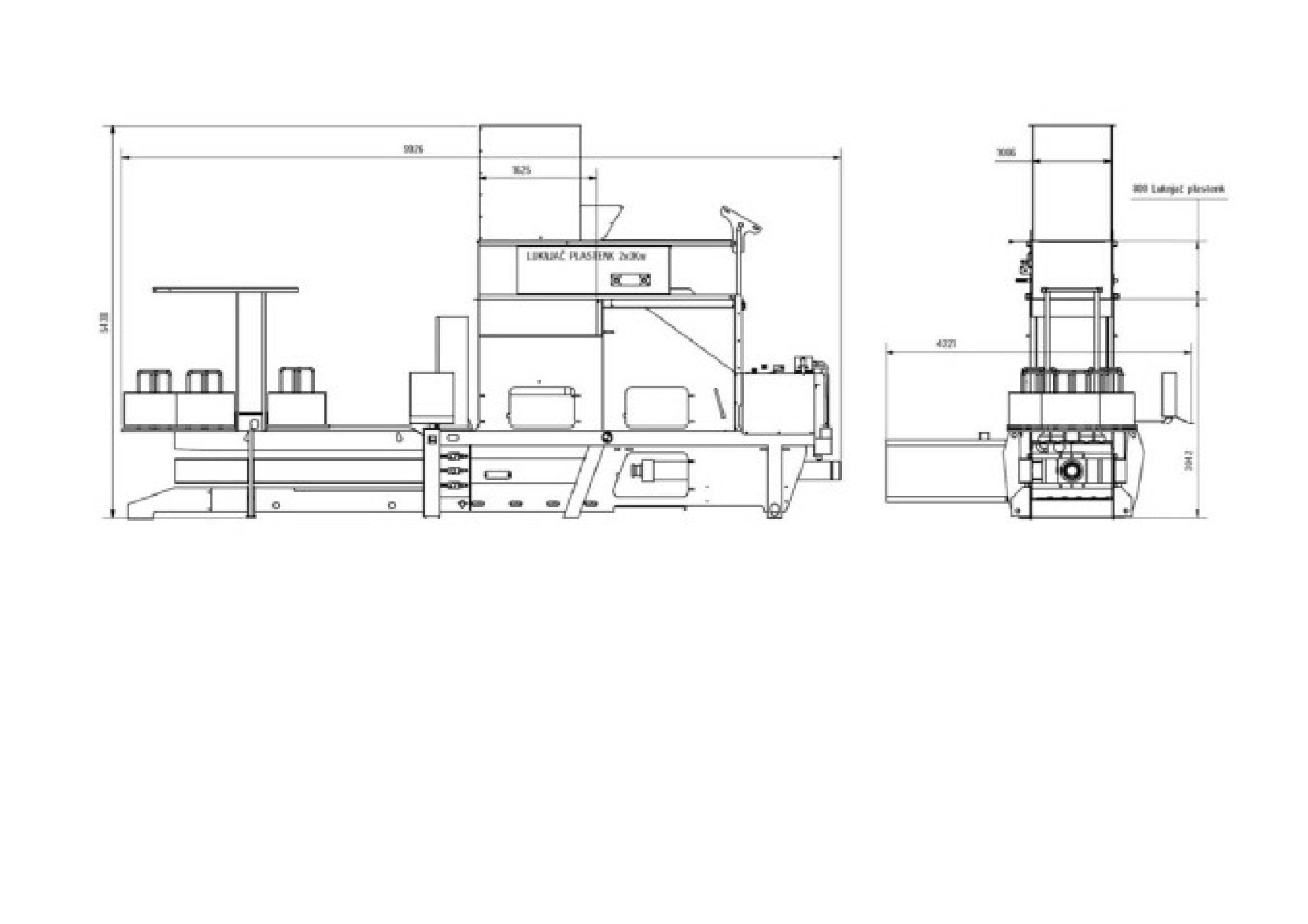 Channel baler S-100PK