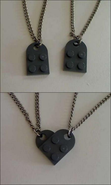 необычное использование LEGO