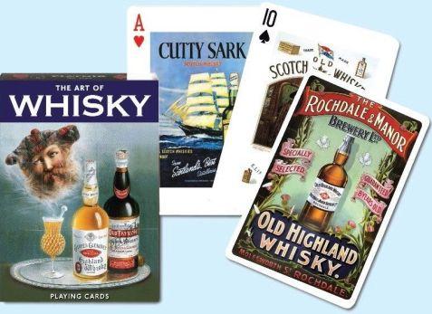 Коллекционные игральные карты Виски