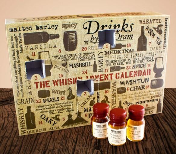 Рождественский виски-календарь