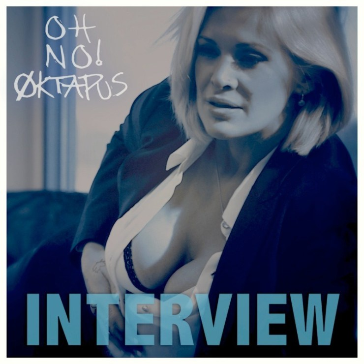 Oh No Oktapus single artwork for song Interview