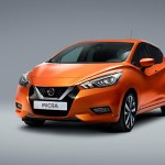 Digital Car Render Illustration Nissan Micra