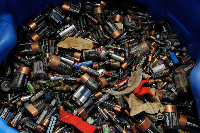 Toneldas de Pilas y Baterias recolectadas por el Gobierno de la Ciudad de Buenos Aires.
