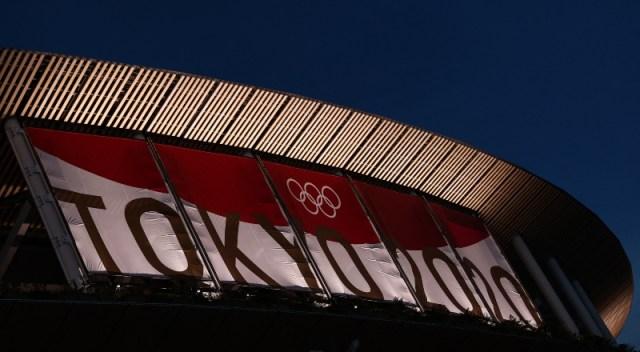 Imagen exterir del Estadio Olímpico de Tokio.