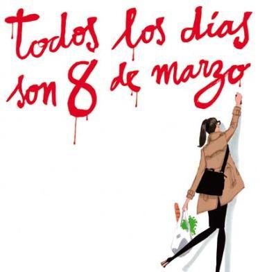 Ilustración reivindicativa: todos los días son 8 de marzo