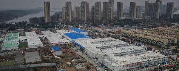 China abre su hospital de 1.000 camas contra el coronavirus