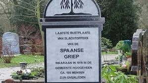 Grafsteen Spaanse griep