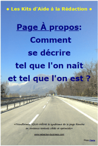 redaction - page-a-propos