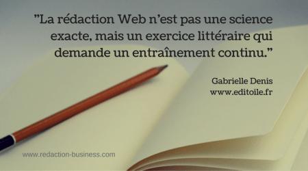 Rédaction web en deux mots: technique et/ou littéraire ?