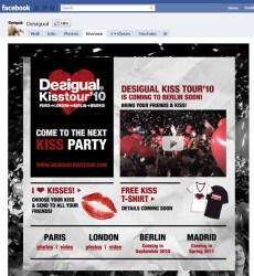 desigual kiss tout facebook promo decalee
