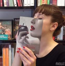 librairie mollat bookface promo decalee
