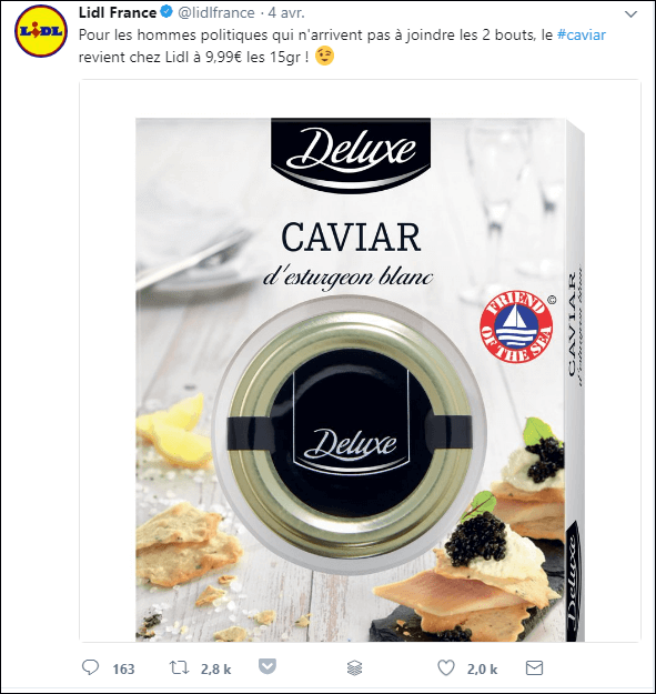 lidl fillon promo decalee