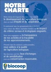 biocoop - charte des valeurs