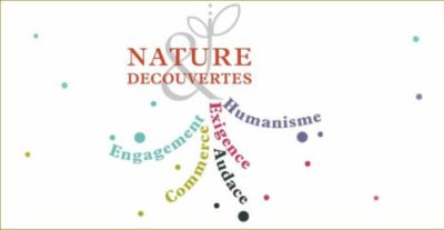 nature découvertes - charte des valeurs