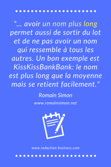 romain simon citation nom entreprise long