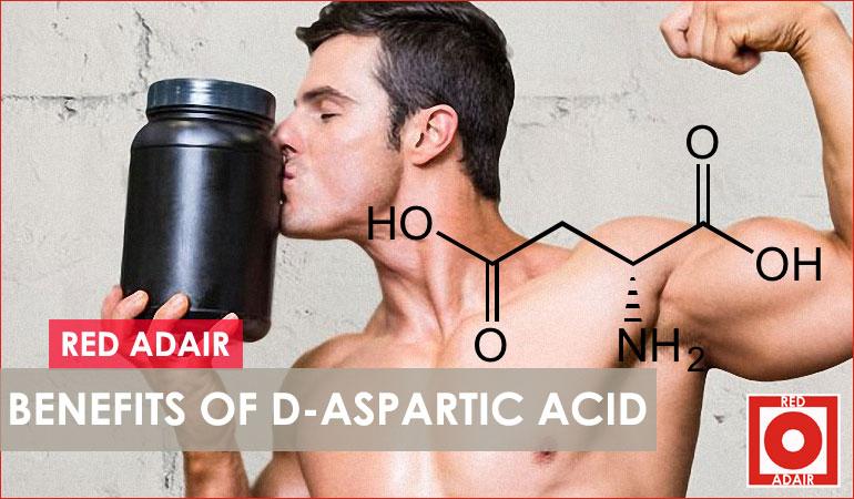 D-Aspartic Acid benefits