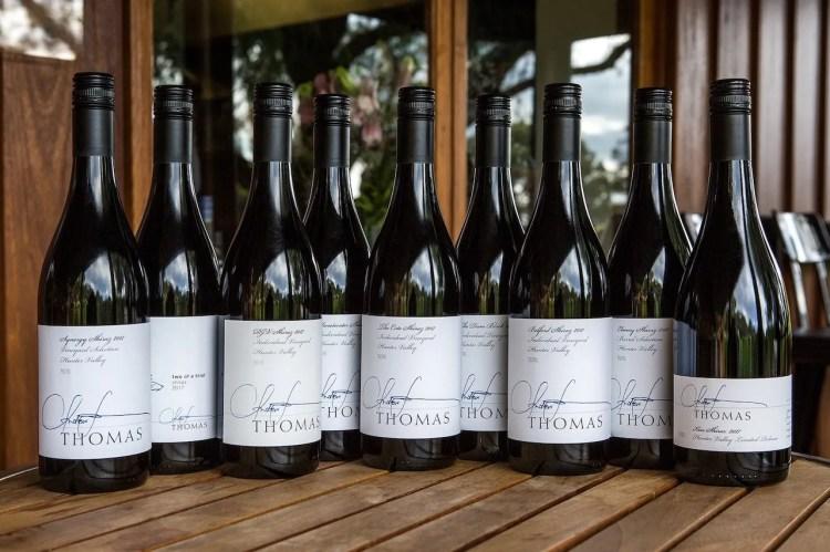 Andrew Thomas wine collection