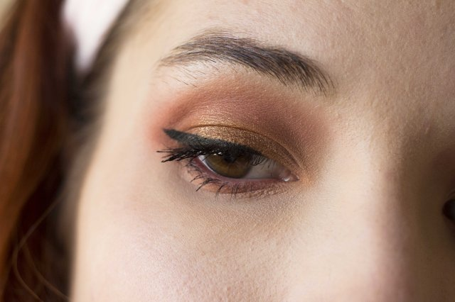 Make-up with huda beauty warm brow obsessions