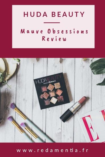 Huda Beauty Mauve Obessions Review