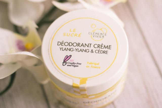 Déodorant clean le sucré Clémence & Vivien