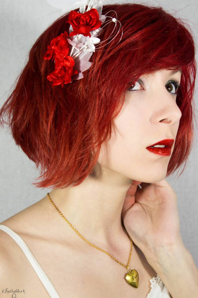 Cheveux rouges red amentia