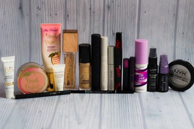 produits terminés maquillage
