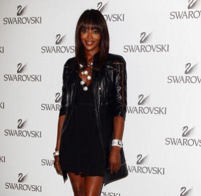 Naomi Campbell allo Swarovski Fashination Party