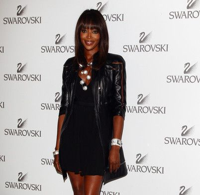 Naomi Campbell allo Swarovski Fashination Party