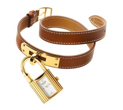Orolologio Hermès Kelly con lucchetto