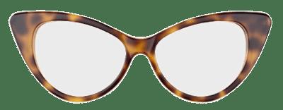Tom Ford occhiali retro da gatta in tartaruga