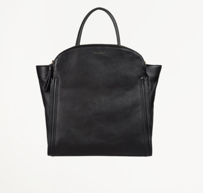 Coccinelle borsa a mano extra large in pelle nera