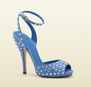 Gucci sandali Yulia con strass