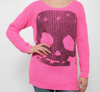Kontatto maglione con Teschio