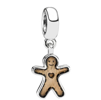 Pandora charm Gingerbread – Omino di Pan di Zenzero