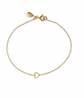 Phoebe Coleman braccialetto con cuore