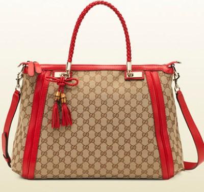 Gucci borsa Bella rossa