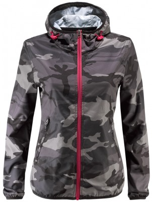 Athletes World giacca a vento camouflage