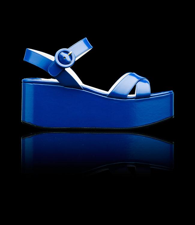 Prada sandali zeppa Estate 2013