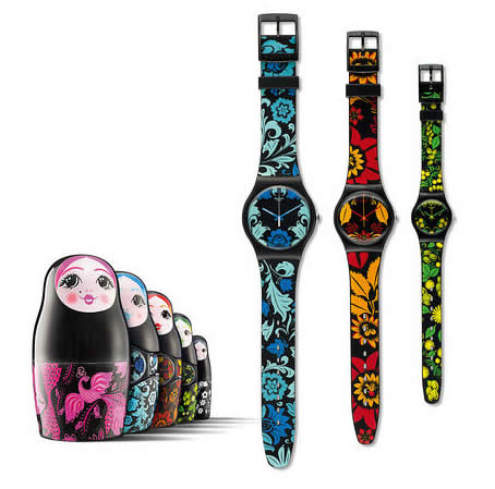 Swatch Matrioska KALINKA – MALINKA