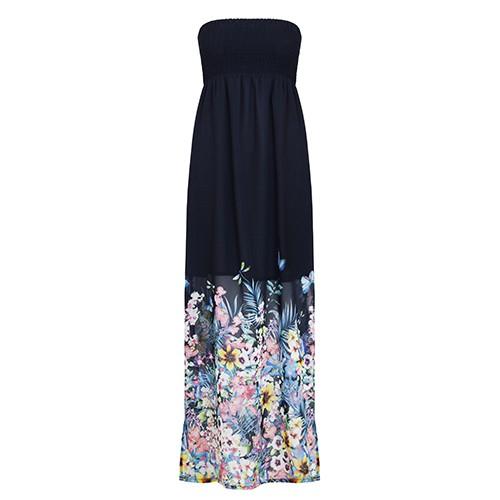 Accessorize abito lungo floreale