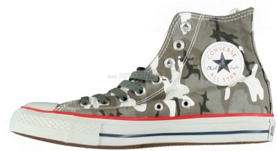 Converse All Star Camouflage Graphic