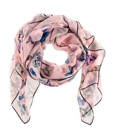 H&M foulard con farfalle