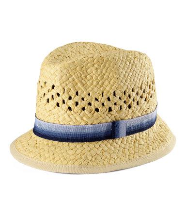 H&M Cappello Paglia Bimbi