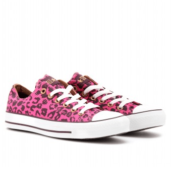 Converse All Star maculate fucsia